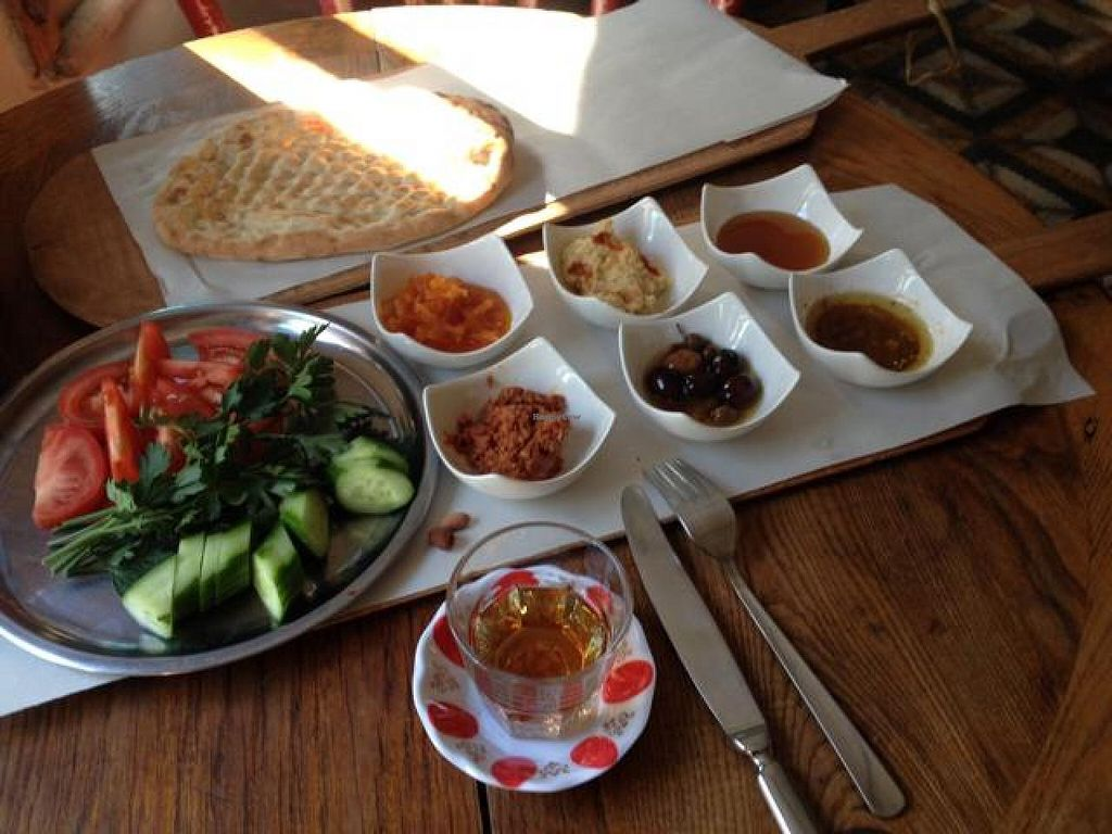 """Photo of CLOSED: Datli Maya  by <a href=""""/members/profile/rebeccalewis"""">rebeccalewis</a> <br/>Vegan breakfast platter...delicious! : )  <br/> October 19, 2014  - <a href='/contact/abuse/image/48159/83346'>Report</a>"""