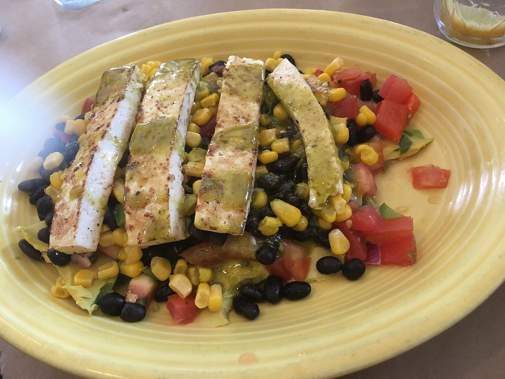 """Photo of Local Urban Kitchen  by <a href=""""/members/profile/Isamara"""">Isamara</a> <br/>Salad with tofu as protein  <br/> July 2, 2017  - <a href='/contact/abuse/image/48160/275907'>Report</a>"""