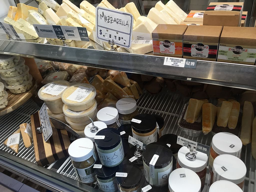 """Photo of The Herbivorous Butcher  by <a href=""""/members/profile/Veg4Jay"""">Veg4Jay</a> <br/>Vegan Cheeses <br/> July 22, 2017  - <a href='/contact/abuse/image/48170/283352'>Report</a>"""