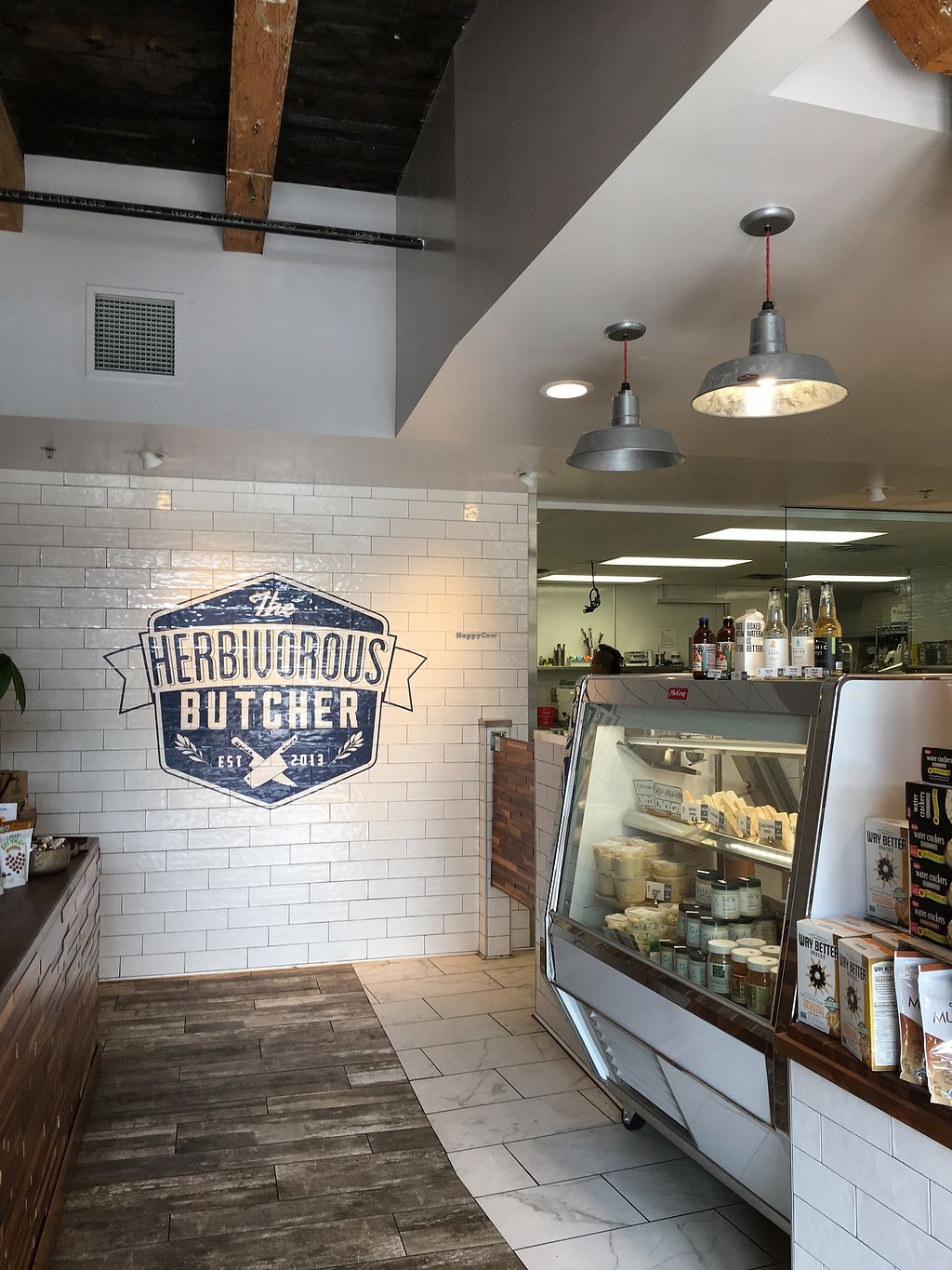 """Photo of The Herbivorous Butcher  by <a href=""""/members/profile/cookiem"""">cookiem</a> <br/>""""Cheese"""" case on the right <br/> October 15, 2017  - <a href='/contact/abuse/image/48170/315350'>Report</a>"""