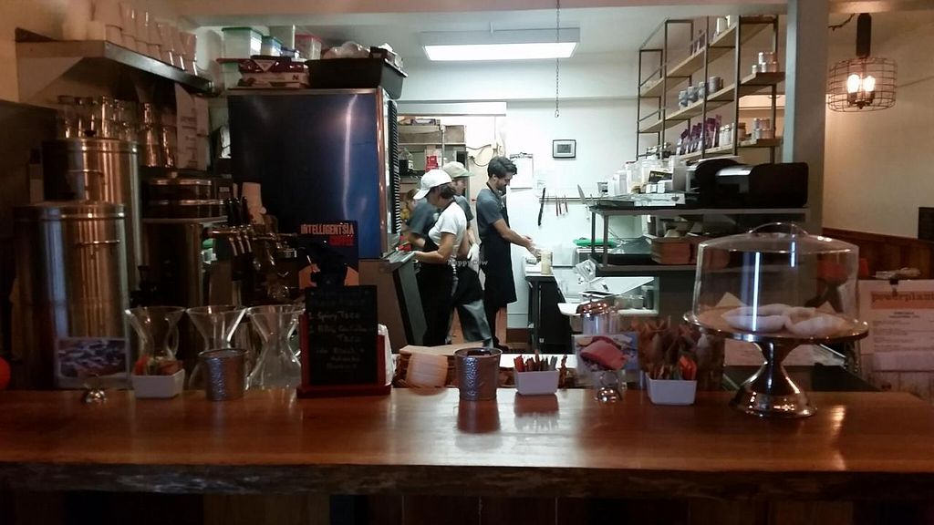 """Photo of Powerplant Superfood Cafe  by <a href=""""/members/profile/kenvegan"""">kenvegan</a> <br/>The Kitchen at Powerplant Superfood. Cafe <br/> November 24, 2014  - <a href='/contact/abuse/image/48173/86397'>Report</a>"""
