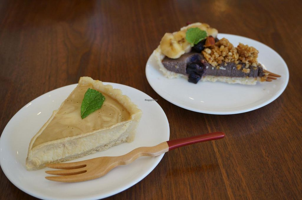 """Photo of Cafe Sante  by <a href=""""/members/profile/Ricardo"""">Ricardo</a> <br/>Raw Cakes approx. 500yen <br/> June 21, 2014  - <a href='/contact/abuse/image/48188/72429'>Report</a>"""