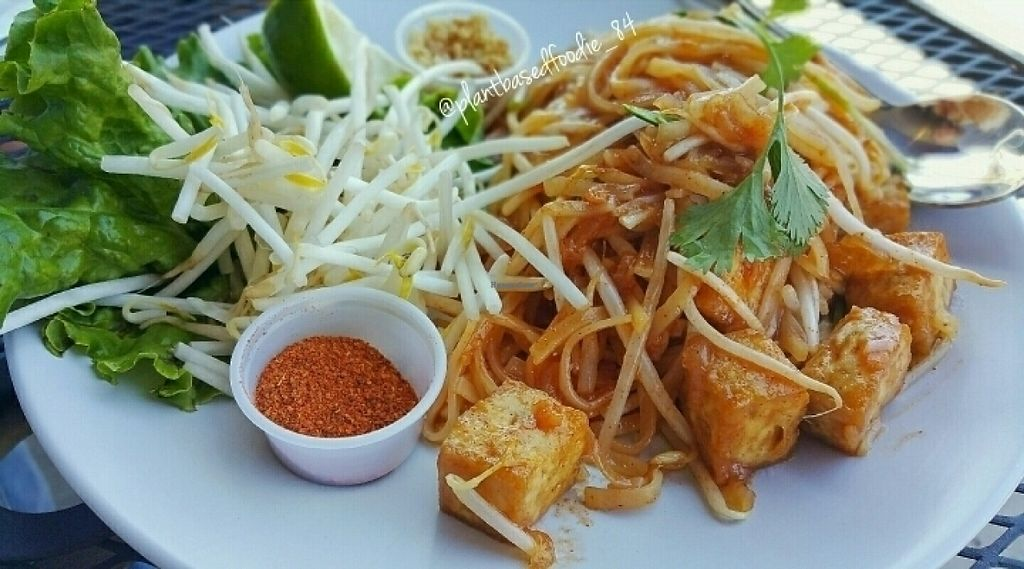 """Photo of CLOSED: Happy Elephant Vegan  by <a href=""""/members/profile/anne420"""">anne420</a> <br/>Pad Thai  <br/> July 11, 2016  - <a href='/contact/abuse/image/48191/159062'>Report</a>"""