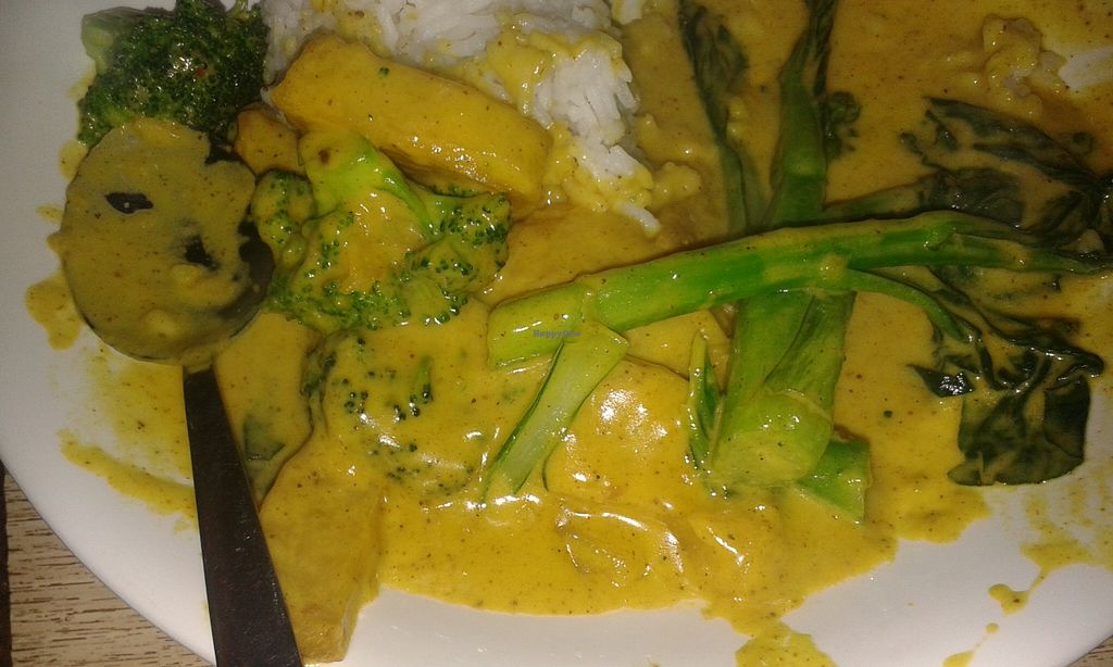 "Photo of Veggie Senses  by <a href=""/members/profile/Stevie"">Stevie</a> <br/>Veg curry & rice <br/> February 2, 2016  - <a href='/contact/abuse/image/48231/134762'>Report</a>"