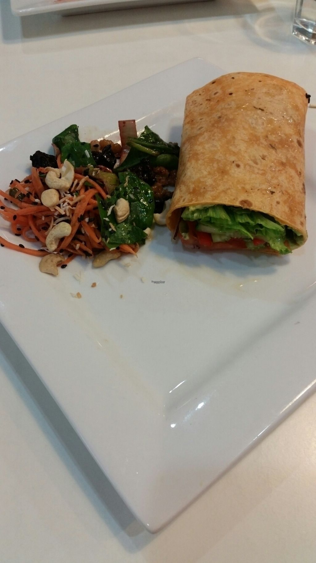"Photo of Reality Bites Cafe  by <a href=""/members/profile/AndyTheVWDude"">AndyTheVWDude</a> <br/>Vegan wrap & mixed fresh salad <br/> November 4, 2016  - <a href='/contact/abuse/image/48232/186486'>Report</a>"