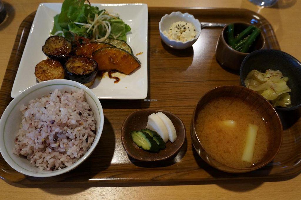 "Photo of Organic Hitsukiya  by <a href=""/members/profile/Ricardo"">Ricardo</a> <br/>Yasai Gozen Set 1000yen <br/> June 26, 2014  - <a href='/contact/abuse/image/48254/72816'>Report</a>"