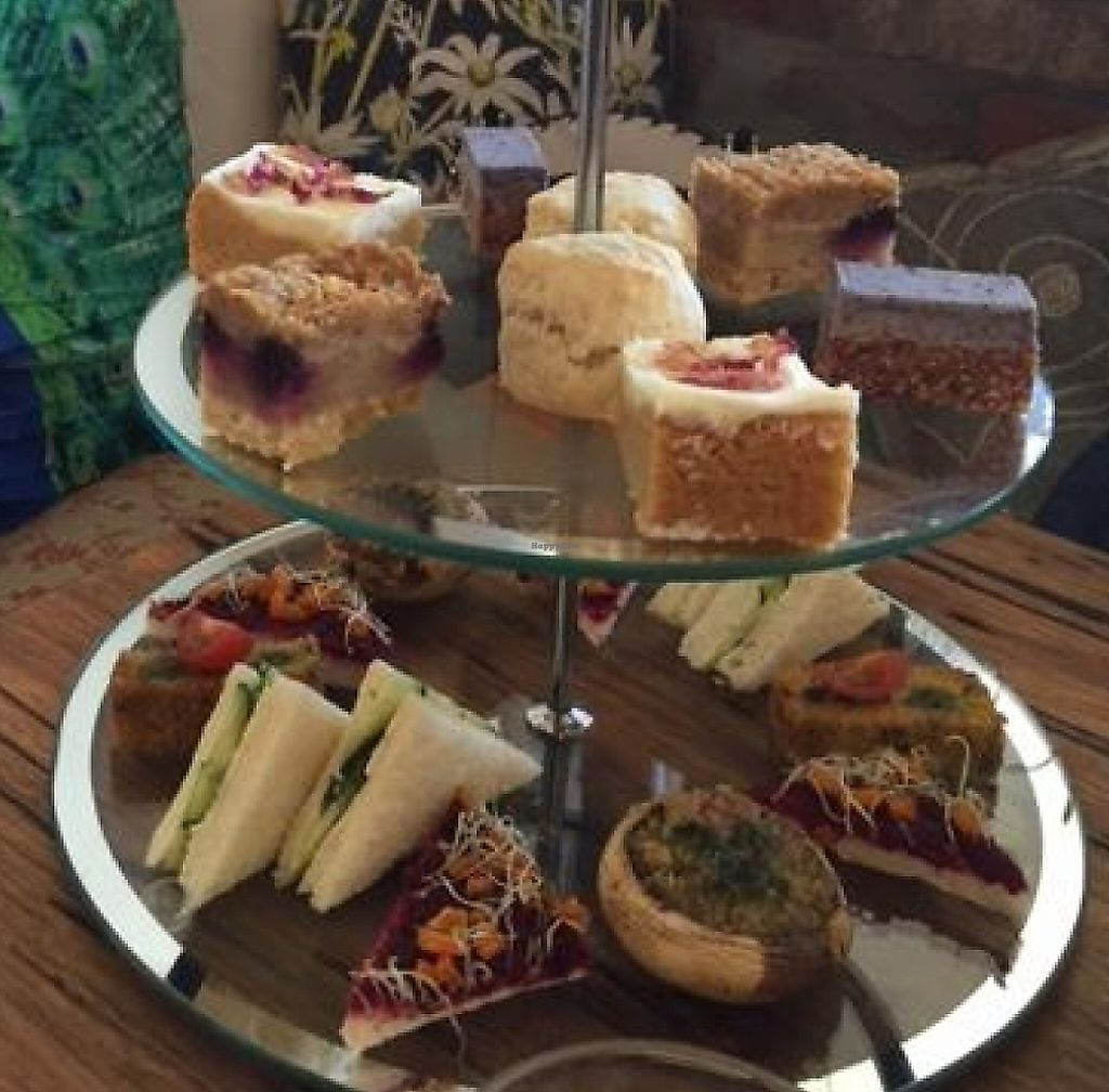"""Photo of CLOSED: Impala and Peacock  by <a href=""""/members/profile/Kittybiscuit"""">Kittybiscuit</a> <br/>Vegan high tea <br/> April 24, 2016  - <a href='/contact/abuse/image/48318/256071'>Report</a>"""
