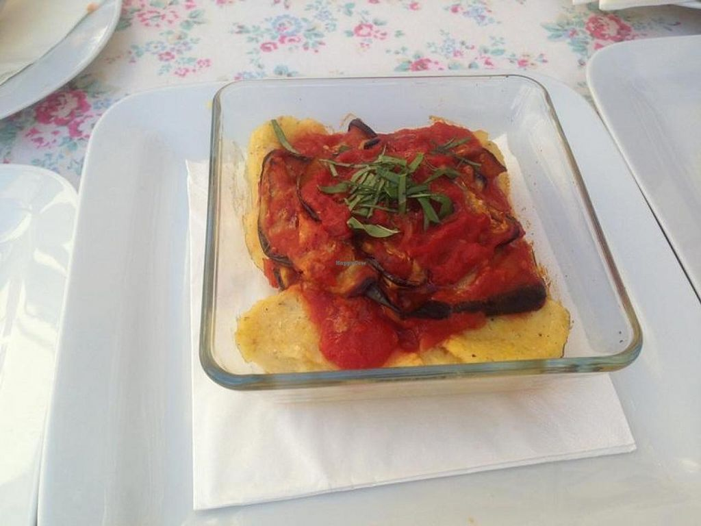 """Photo of Aterina  by <a href=""""/members/profile/PrincessMonkey"""">PrincessMonkey</a> <br/>Baked Polenta - The staff can happily make this vegan <br/> July 21, 2014  - <a href='/contact/abuse/image/48322/74657'>Report</a>"""