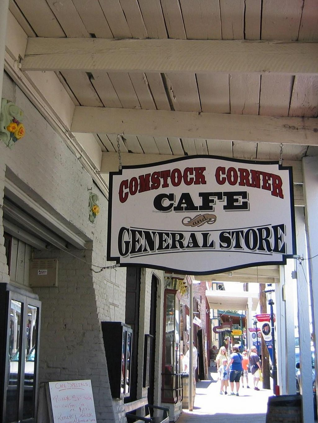 "Photo of CLOSED: Comstock Corner Cafe and General Store  by <a href=""/members/profile/Carol%20Lee%20Murray"">Carol Lee Murray</a> <br/>The front entrance to the Comstock Corner Cafe and General Store in Virginia City, NV.