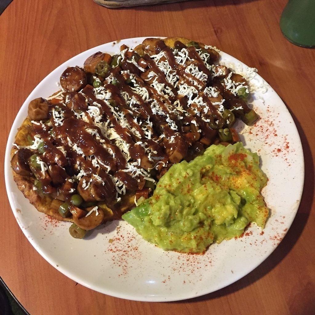 "Photo of La Cocinita Verde - Restaurante  by <a href=""/members/profile/StevieSurf"">StevieSurf</a> <br/>Patacón Gulasch <br/> February 17, 2017  - <a href='/contact/abuse/image/48341/227238'>Report</a>"