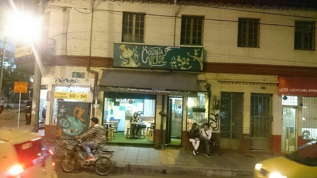 """Photo of La Cocinita Verde - Restaurante  by <a href=""""/members/profile/Phenomenon"""">Phenomenon</a> <br/>outside  <br/> March 11, 2017  - <a href='/contact/abuse/image/48341/235058'>Report</a>"""