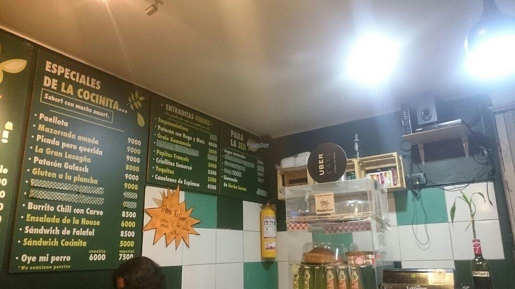 """Photo of La Cocinita Verde - Restaurante  by <a href=""""/members/profile/Phenomenon"""">Phenomenon</a> <br/>inside  <br/> March 11, 2017  - <a href='/contact/abuse/image/48341/235059'>Report</a>"""