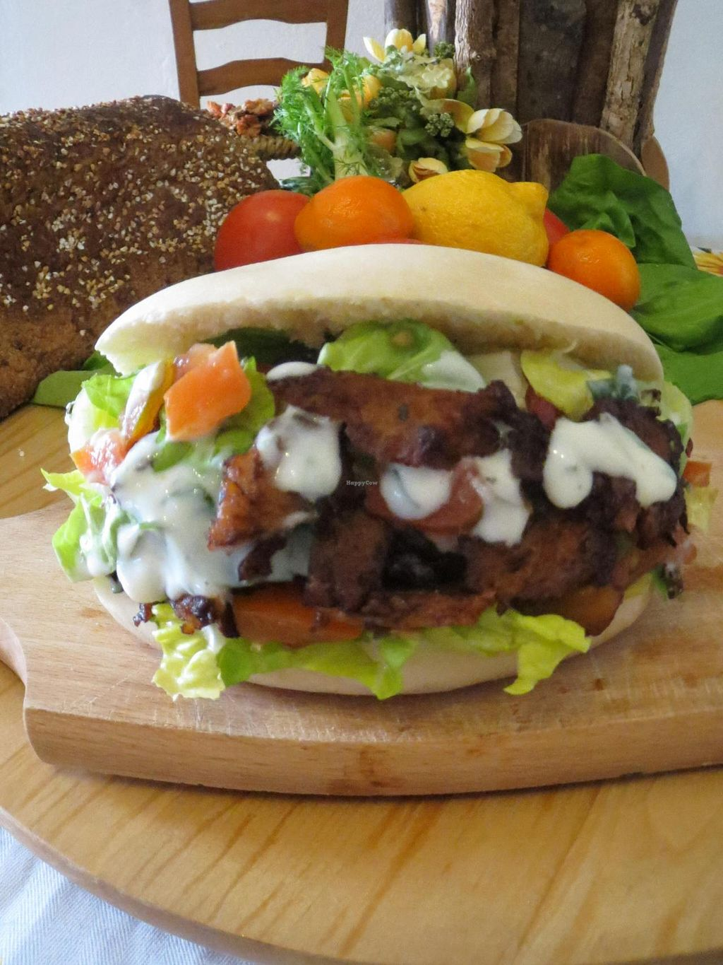 "Photo of CLOSED: Biovegafe Dolce e Salato  by <a href=""/members/profile/ChristianFerro"">ChristianFerro</a> <br/>Kebap veg with spicy seitan <br/> July 11, 2014  - <a href='/contact/abuse/image/48361/73764'>Report</a>"