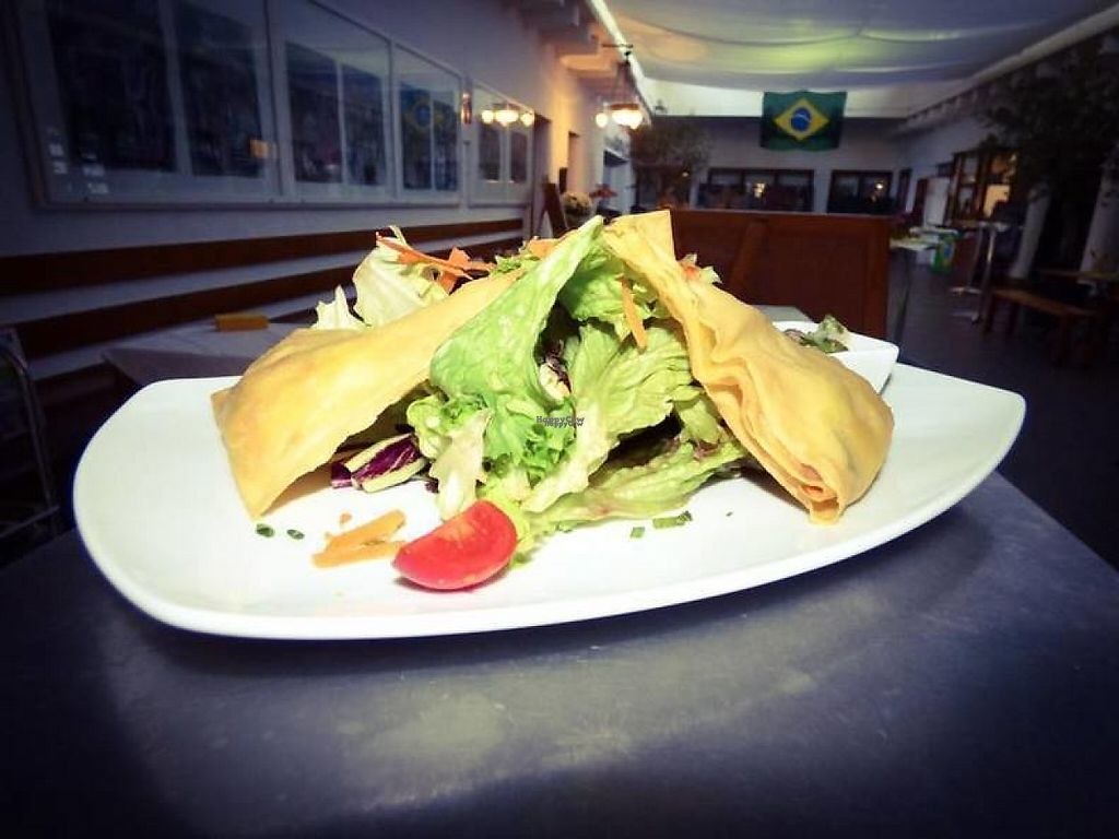 """Photo of Gaststatte in Wiehre Bahnhof  by <a href=""""/members/profile/community"""">community</a> <br/>Salad at Gaststatte in Wiehre Bahnhof <br/> March 5, 2017  - <a href='/contact/abuse/image/48380/232741'>Report</a>"""