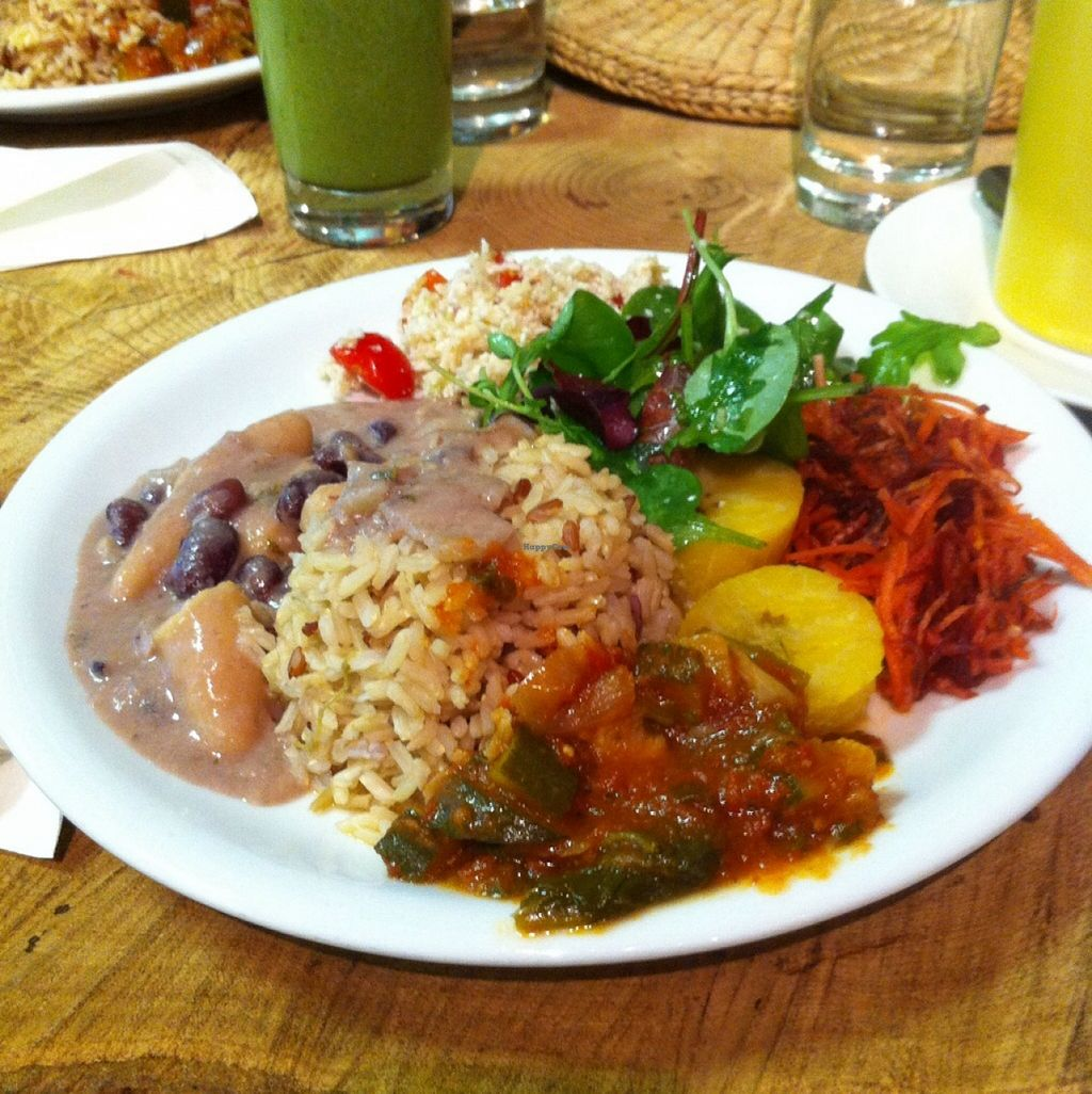 """Photo of CLOSED: The Calabash of Culture  by <a href=""""/members/profile/Dan%20Douglas"""">Dan Douglas</a> <br/>Bean stew with dumplings <br/> January 28, 2016  - <a href='/contact/abuse/image/48450/133991'>Report</a>"""