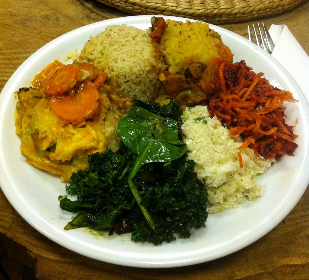 """Photo of CLOSED: The Calabash of Culture  by <a href=""""/members/profile/Dan%20Douglas"""">Dan Douglas</a> <br/>Lasagne and shepherd's pie <br/> January 28, 2016  - <a href='/contact/abuse/image/48450/133996'>Report</a>"""