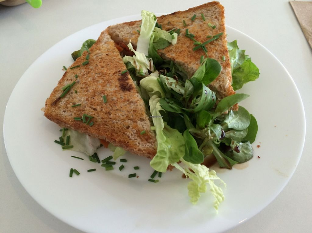 "Photo of SnackBar12  by <a href=""/members/profile/ottofirn"">ottofirn</a> <br/>smoked Tofu Sandwich  <br/> September 28, 2015  - <a href='/contact/abuse/image/48458/119468'>Report</a>"