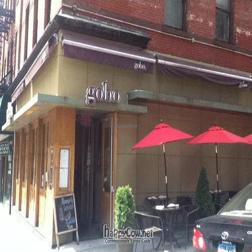"""Photo of CLOSED: Gobo - Upper East Side  by <a href=""""/members/profile/PennsyltuckyVeggie"""">PennsyltuckyVeggie</a> <br/>Gobo Upper East Side exterior <br/> September 3, 2011  - <a href='/contact/abuse/image/4845/10394'>Report</a>"""