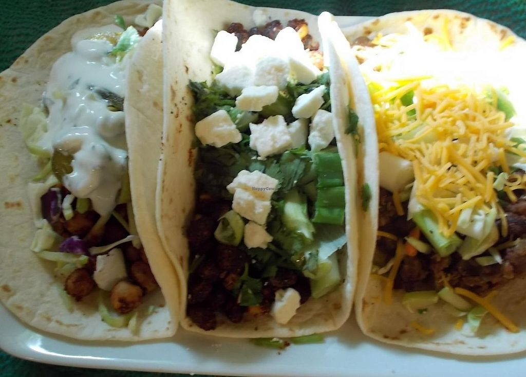 Photo of Red Delicious  by ChefSelena <br/>Triple Taco Plate from Red Delicious <br/> July 3, 2014  - <a href='/contact/abuse/image/48478/73154'>Report</a>