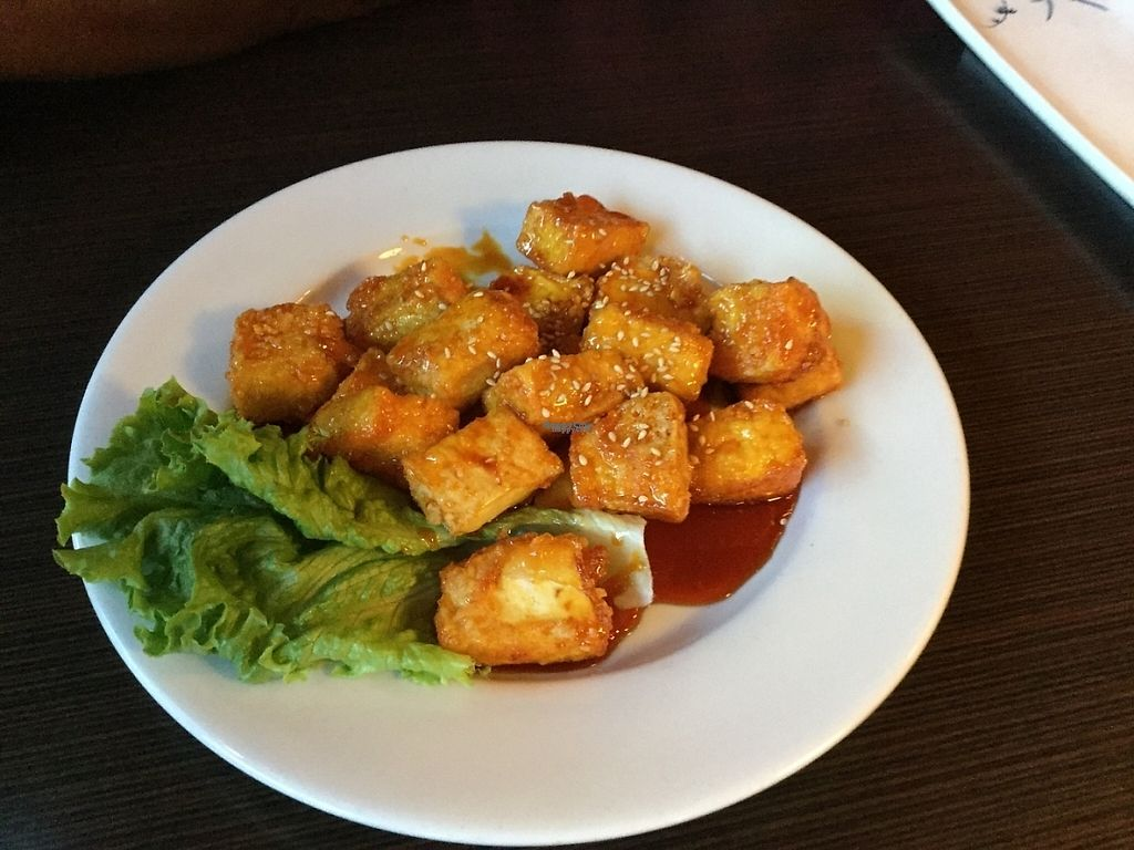 """Photo of Tofu House Korean BBQ  by <a href=""""/members/profile/AprilRain"""">AprilRain</a> <br/>Sweet and sour tofu <br/> December 27, 2016  - <a href='/contact/abuse/image/48484/205270'>Report</a>"""