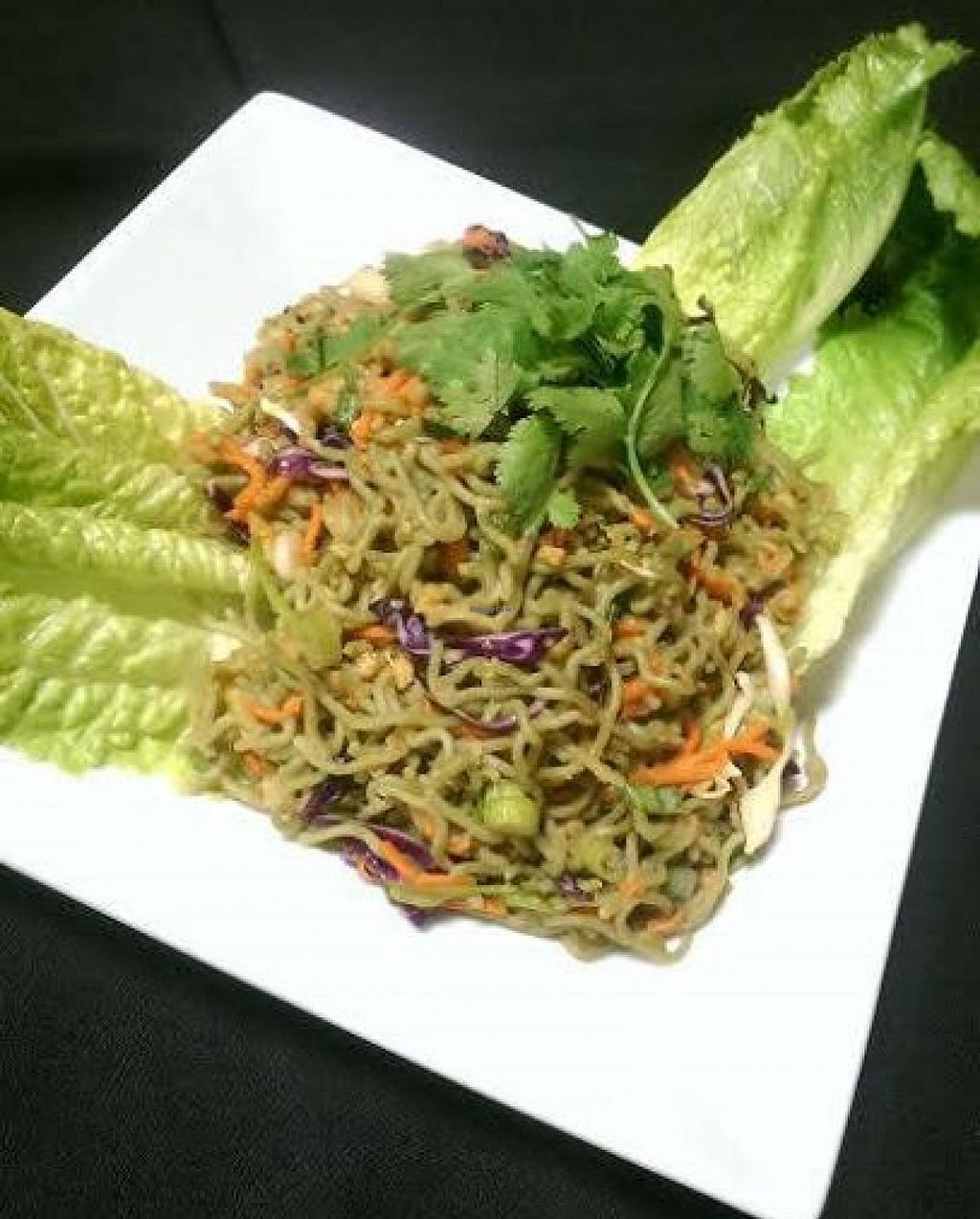 """Photo of Chef's Choice Noodle Bar  by <a href=""""/members/profile/community"""">community</a> <br/>spinach noodles <br/> September 26, 2014  - <a href='/contact/abuse/image/48485/81107'>Report</a>"""
