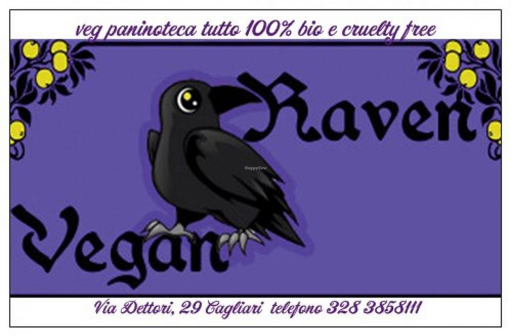 """Photo of CLOSED: Vegan Raven  by <a href=""""/members/profile/dafne%20turillazzi"""">dafne turillazzi</a> <br/>logo vegan raven <br/> July 7, 2014  - <a href='/contact/abuse/image/48505/73384'>Report</a>"""