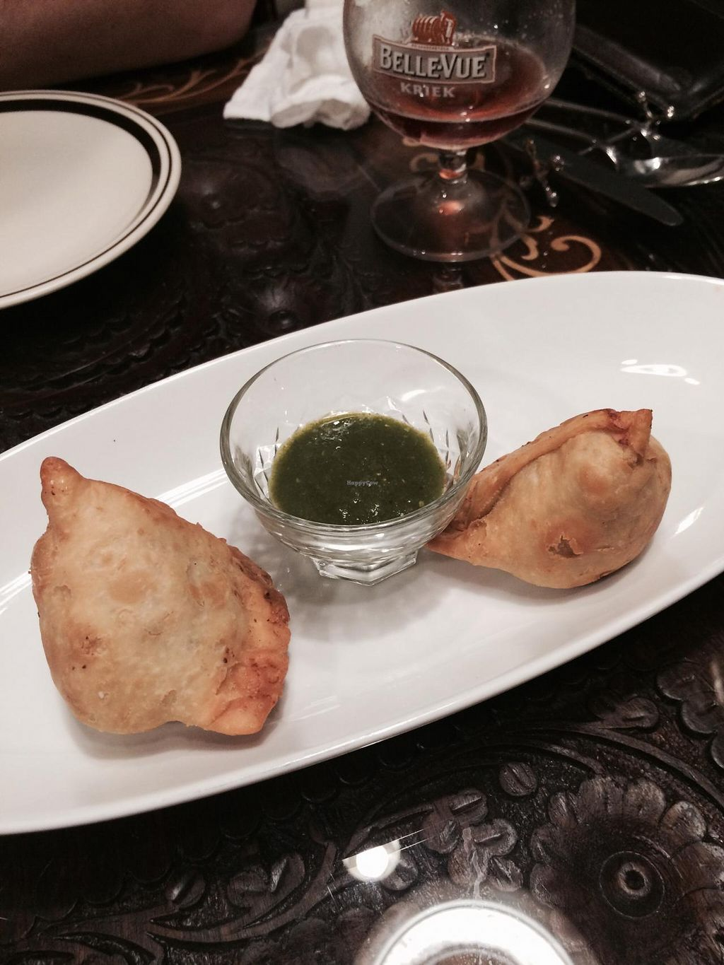 """Photo of Annam Restaurant  by <a href=""""/members/profile/Kristy01"""">Kristy01</a> <br/>Samosas are a bit pricey but taste amazing <br/> April 26, 2015  - <a href='/contact/abuse/image/48538/100411'>Report</a>"""