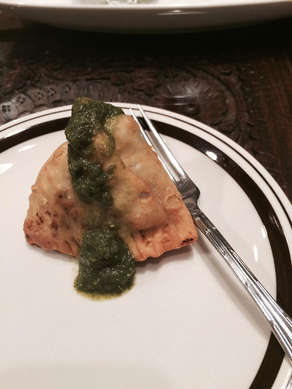 """Photo of Annam Restaurant  by <a href=""""/members/profile/Kristy01"""">Kristy01</a> <br/>Samosa! Yum! <br/> April 26, 2015  - <a href='/contact/abuse/image/48538/100412'>Report</a>"""