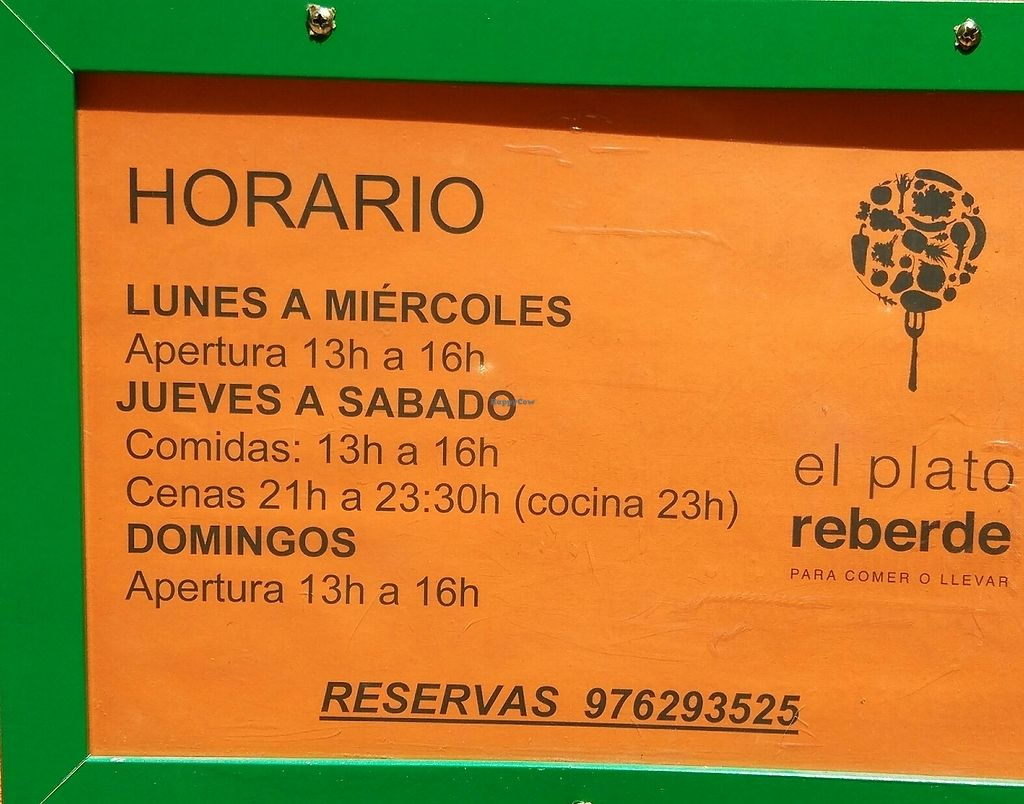"""Photo of CLOSED: El Plato Reberde  by <a href=""""/members/profile/Aquilesgc"""">Aquilesgc</a> <br/>horarios <br/> August 17, 2017  - <a href='/contact/abuse/image/48545/293421'>Report</a>"""