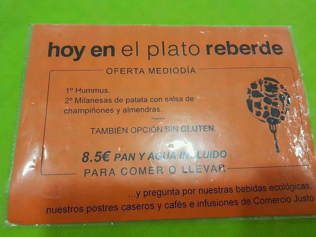 """Photo of CLOSED: El Plato Reberde  by <a href=""""/members/profile/mililili"""">mililili</a> <br/>Menu of the day  <br/> September 8, 2017  - <a href='/contact/abuse/image/48545/302022'>Report</a>"""