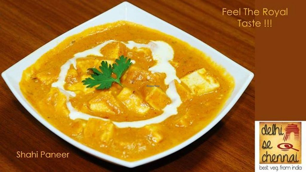 """Photo of Delhi se Chennai Veg Cuisine  by <a href=""""/members/profile/community"""">community</a> <br/>paneer <br/> September 26, 2014  - <a href='/contact/abuse/image/48552/81228'>Report</a>"""