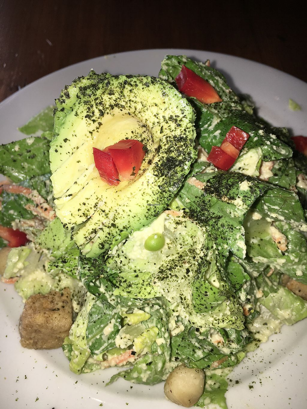 "Photo of Sanctuary Bistro  by <a href=""/members/profile/daroff"">daroff</a> <br/>Macadamia Miso Salad <br/> November 11, 2017  - <a href='/contact/abuse/image/48567/324097'>Report</a>"