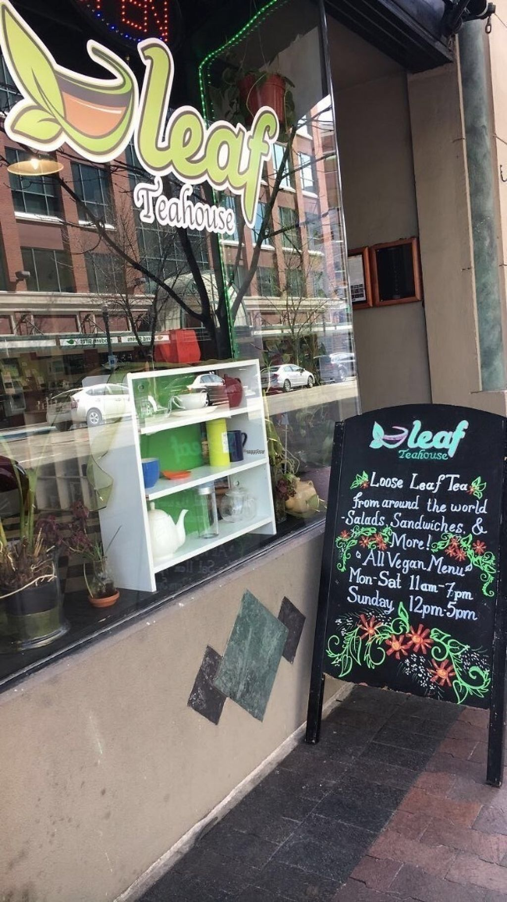 "Photo of CLOSED: Leaf Teahouse  by <a href=""/members/profile/JamieJax563"">JamieJax563</a> <br/>Front of Store <br/> March 14, 2017  - <a href='/contact/abuse/image/48591/236124'>Report</a>"
