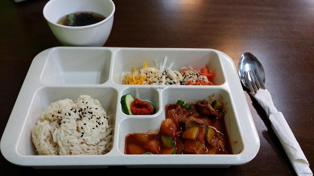 """Photo of Yuan Xin Organic Zone  by <a href=""""/members/profile/walter007"""">walter007</a> <br/>Bento set lunch <br/> July 5, 2014  - <a href='/contact/abuse/image/48600/73297'>Report</a>"""