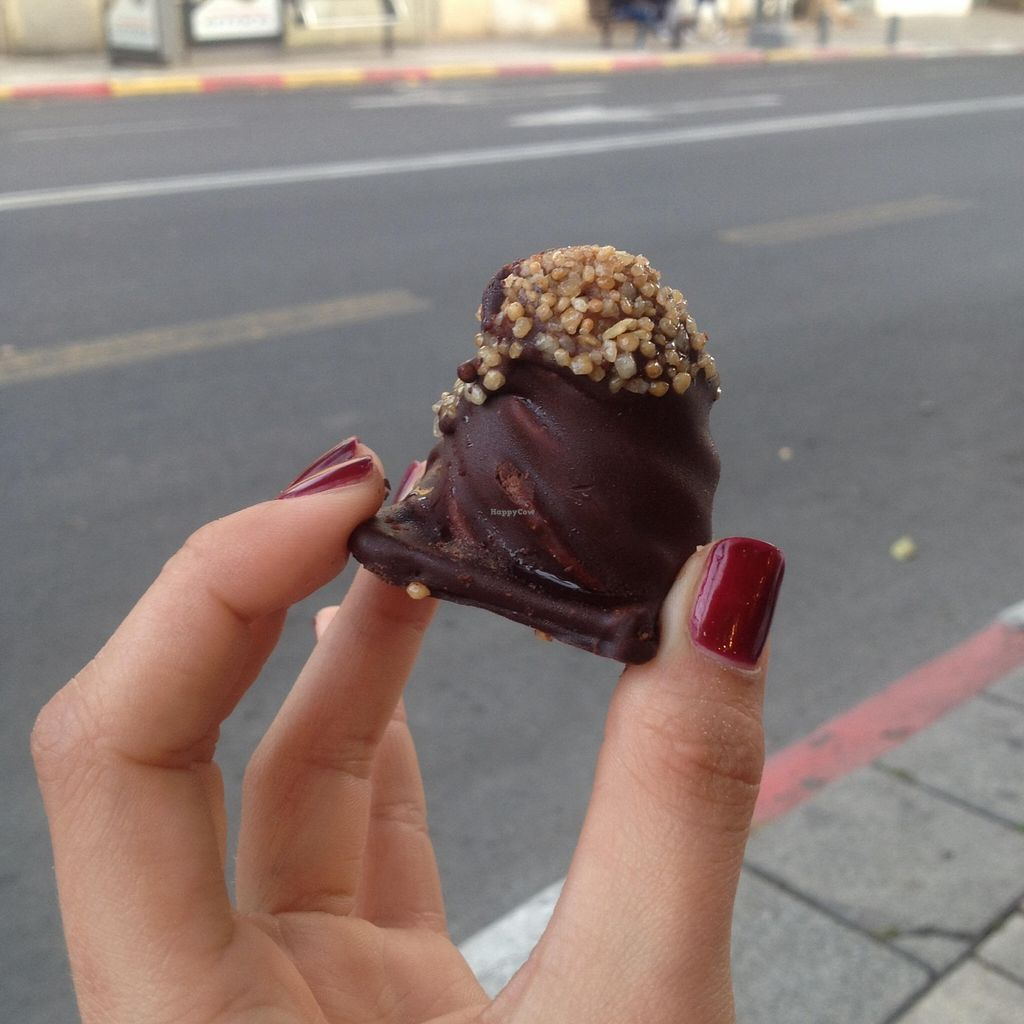 """Photo of CLOSED: Seeds  by <a href=""""/members/profile/MirandaMaria"""">MirandaMaria</a> <br/>Nougat chocolate, but I would rather call it the Vegan Ferrero Roche <br/> April 5, 2016  - <a href='/contact/abuse/image/48601/142966'>Report</a>"""