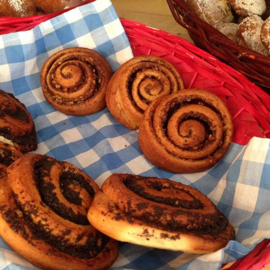 """Photo of CLOSED: Seeds  by <a href=""""/members/profile/Brok%20O.%20Lee"""">Brok O. Lee</a> <br/>Vegan cinnamon rolls and chocolate rolls <br/> July 17, 2014  - <a href='/contact/abuse/image/48601/74298'>Report</a>"""