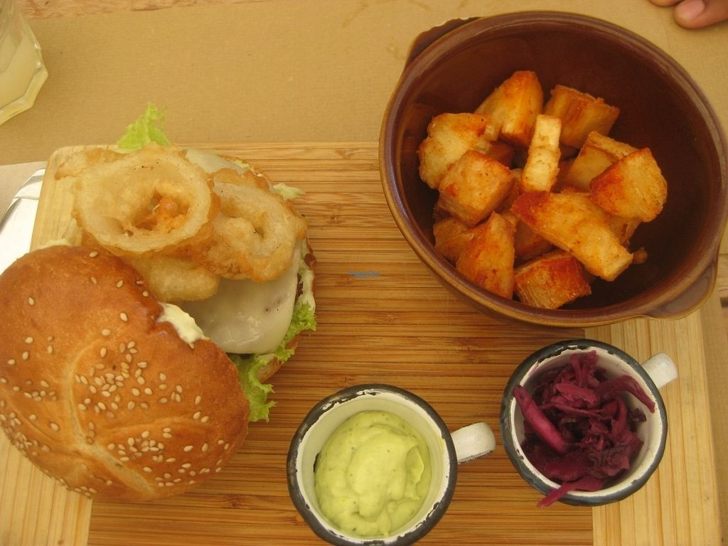 """Photo of Kimpira  by <a href=""""/members/profile/jennyc32"""">jennyc32</a> <br/>Vegan burger <br/> August 6, 2016  - <a href='/contact/abuse/image/48618/166245'>Report</a>"""