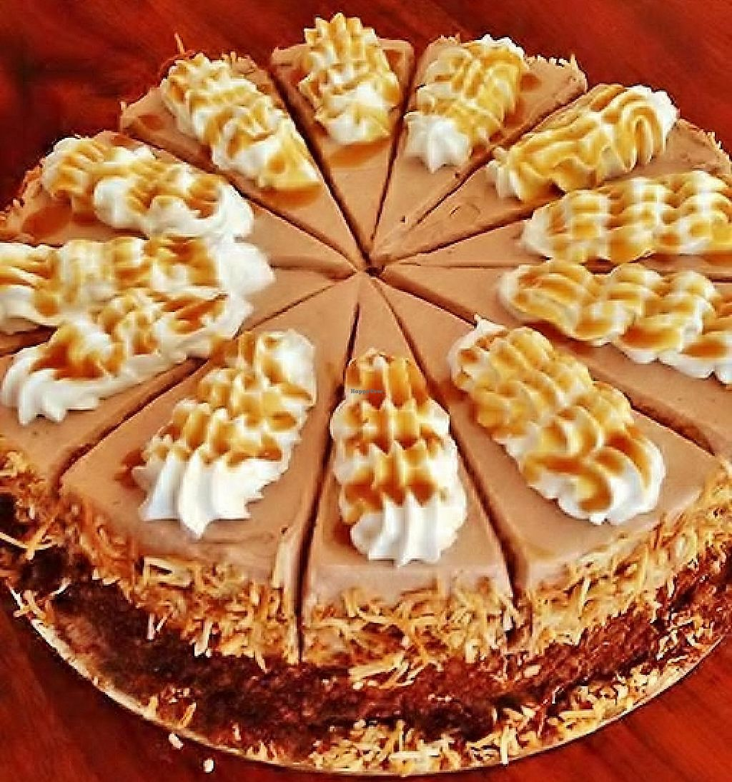 """Photo of Radhey Kitchen and Chai Bar  by <a href=""""/members/profile/verbosity"""">verbosity</a> <br/>Vegan Turkish Delight Cake <br/> July 4, 2015  - <a href='/contact/abuse/image/48629/256517'>Report</a>"""