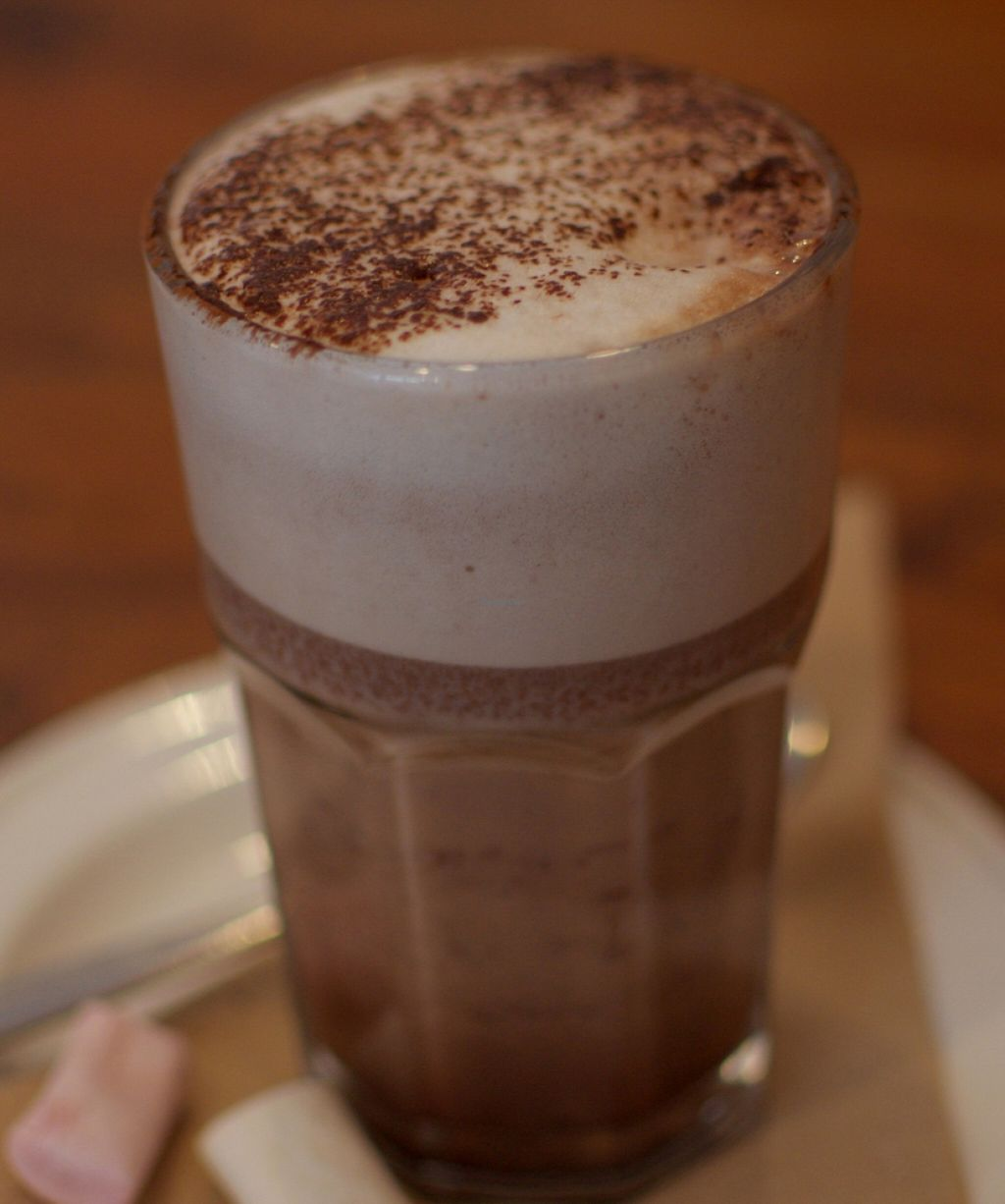 """Photo of Radhey Kitchen and Chai Bar  by <a href=""""/members/profile/chocoholicPhilosophe"""">chocoholicPhilosophe</a> <br/>Hot chocolate (with vegan marshmallows!) <br/> October 9, 2015  - <a href='/contact/abuse/image/48629/256519'>Report</a>"""