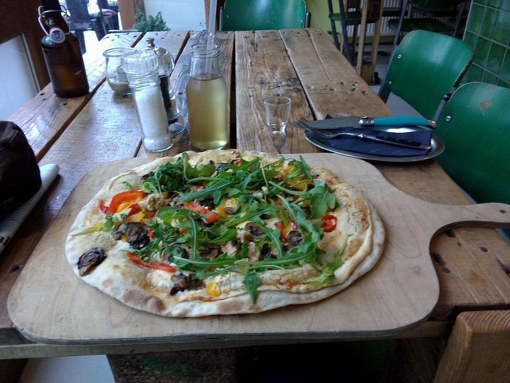 """Photo of CLOSED: Schnell Veg  by <a href=""""/members/profile/Ryecatcher"""">Ryecatcher</a> <br/>Flammkuchen <br/> June 14, 2015  - <a href='/contact/abuse/image/48640/105941'>Report</a>"""