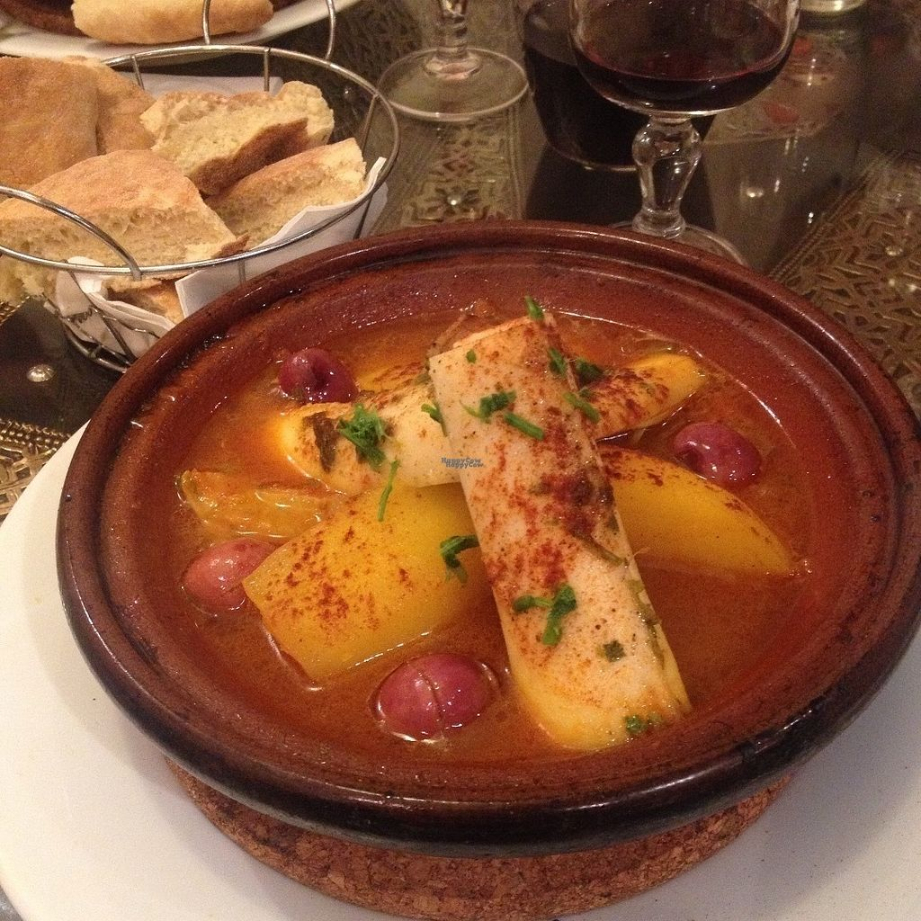 "Photo of Le Touareg  by <a href=""/members/profile/o0Carolyn0o"">o0Carolyn0o</a> <br/>Tajine with hearts of palm and lemon confit...so delicious!! <br/> October 19, 2016  - <a href='/contact/abuse/image/48649/182926'>Report</a>"
