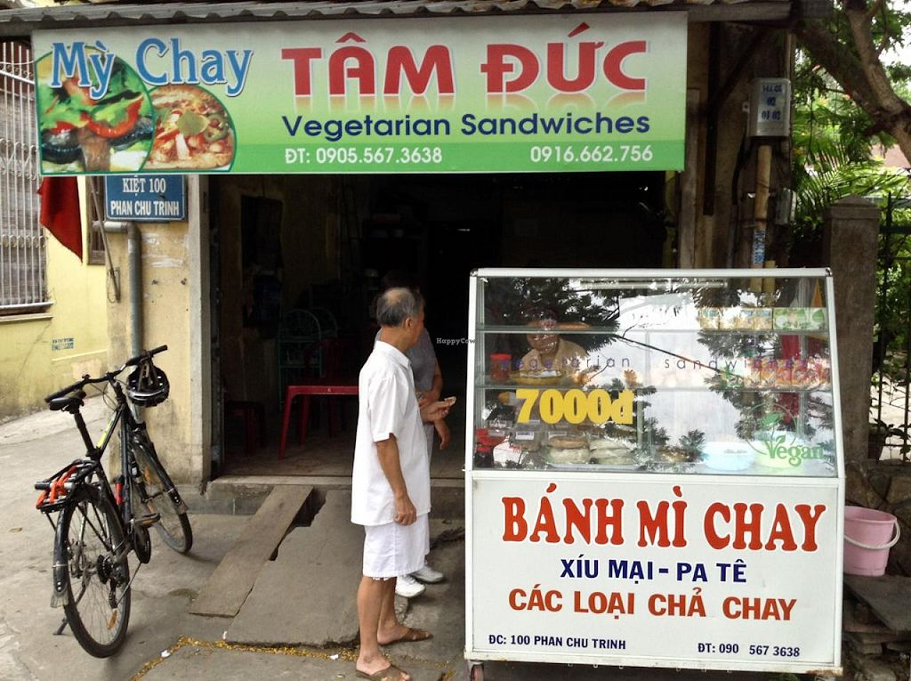 """Photo of My Chay Tam Duc - Banh Mi Chay Food Cart  by <a href=""""/members/profile/Ranks42"""">Ranks42</a> <br/>Restaurant Frontage <br/> July 8, 2014  - <a href='/contact/abuse/image/48666/73571'>Report</a>"""