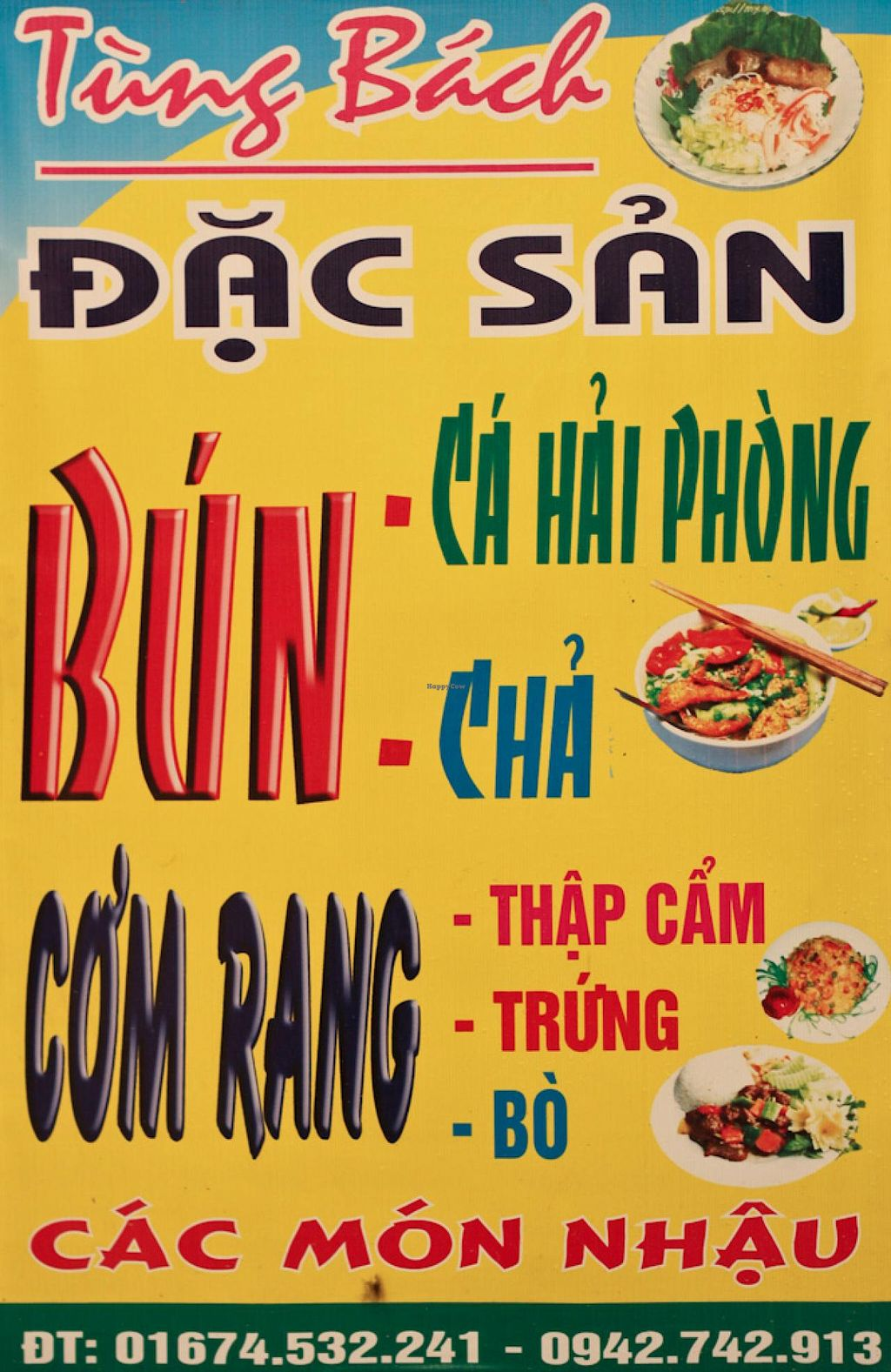 """Photo of Nha Hang Tung Bach  by <a href=""""/members/profile/Ranks42"""">Ranks42</a> <br/>Main Sign <br/> July 7, 2014  - <a href='/contact/abuse/image/48671/73434'>Report</a>"""