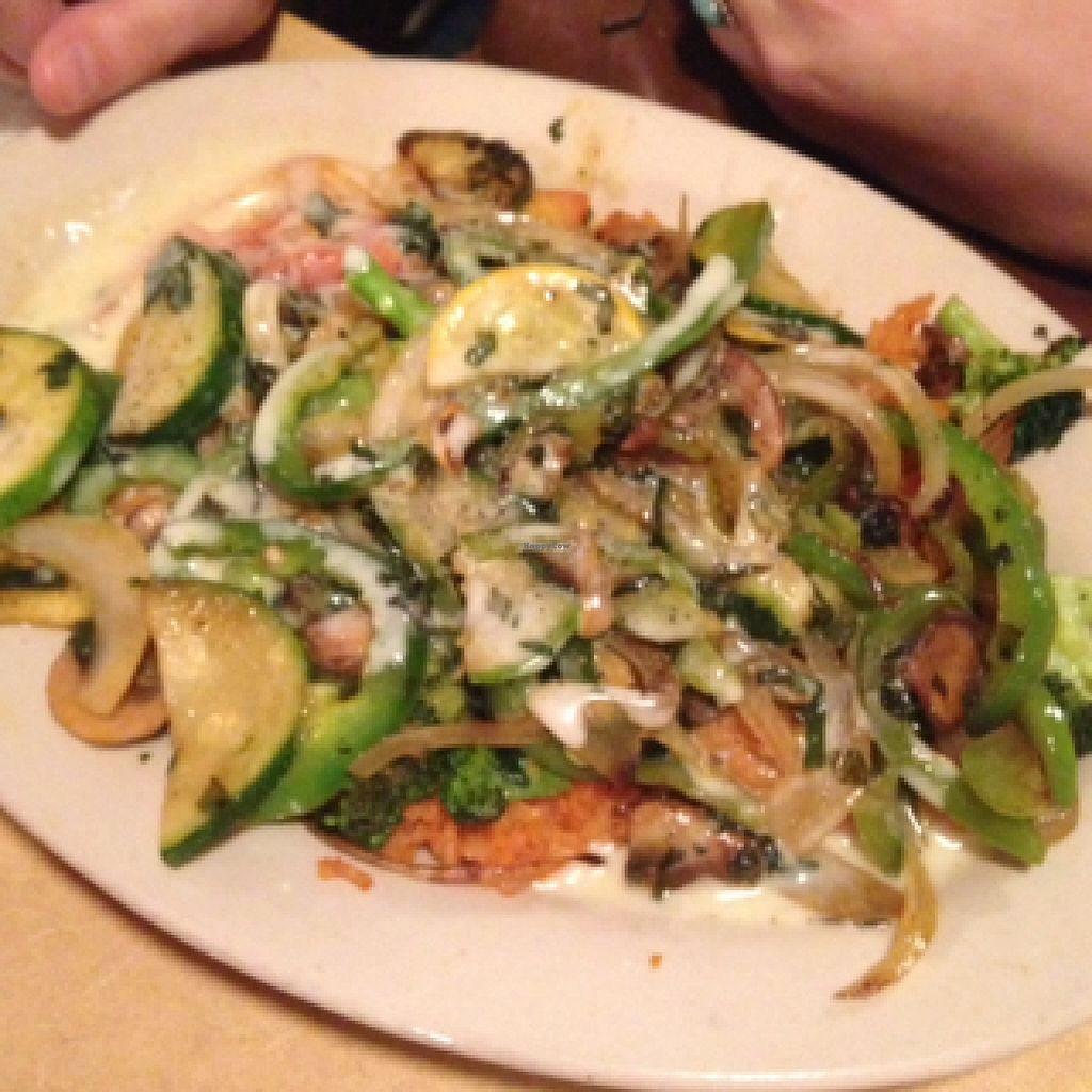 """Photo of Carlito's Mexican Bar and Grill  by <a href=""""/members/profile/mikey725"""">mikey725</a> <br/>veg fajitas on rice <br/> September 14, 2015  - <a href='/contact/abuse/image/48681/117776'>Report</a>"""