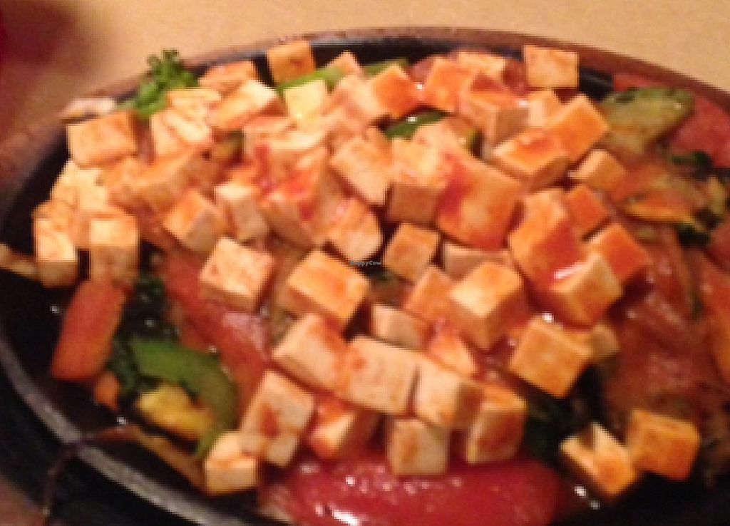 """Photo of Carlito's Mexican Bar and Grill  by <a href=""""/members/profile/mikey725"""">mikey725</a> <br/>veg fajitas with spicy tofu <br/> September 14, 2015  - <a href='/contact/abuse/image/48681/199097'>Report</a>"""