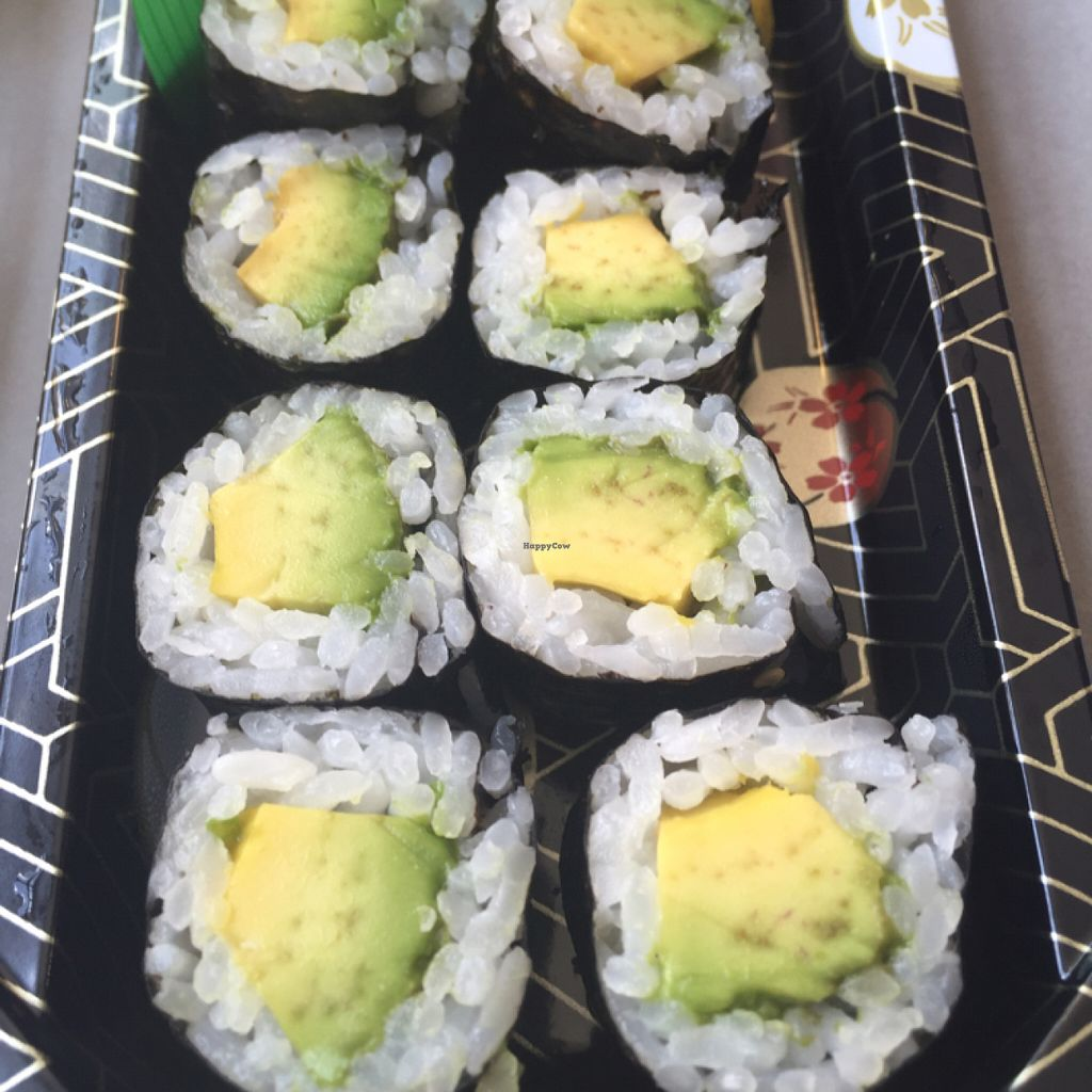 """Photo of Whole Foods Market - Las Vegas Blvd  by <a href=""""/members/profile/VeganCookieLover"""">VeganCookieLover</a> <br/>Avocado Roll <br/> July 4, 2016  - <a href='/contact/abuse/image/4869/157783'>Report</a>"""