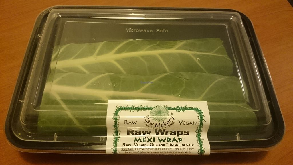 """Photo of Whole Foods Market - Las Vegas Blvd  by <a href=""""/members/profile/chb-pbfp"""">chb-pbfp</a> <br/>Raw wraps <br/> August 26, 2017  - <a href='/contact/abuse/image/4869/297568'>Report</a>"""