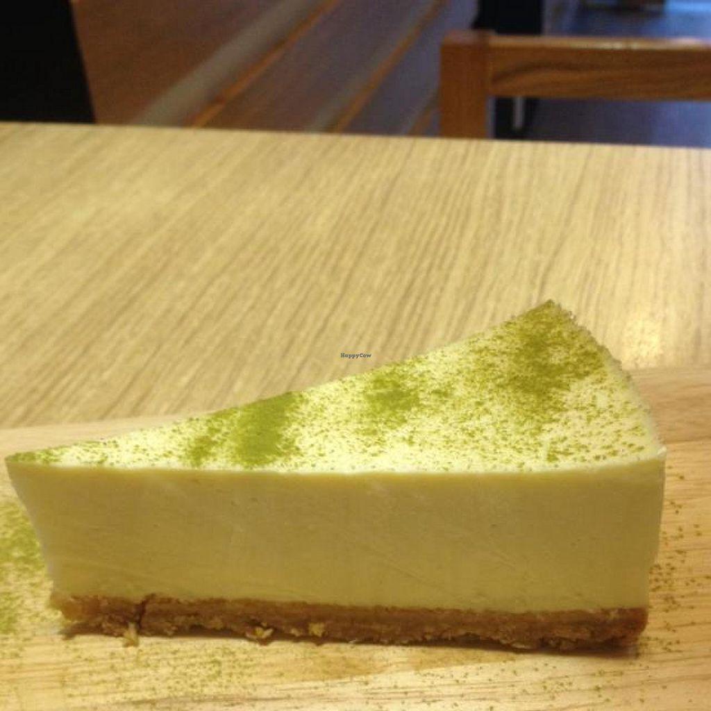 "Photo of CLOSED: The Bean Store - Vo Van Tan  by <a href=""/members/profile/Kimxula"">Kimxula</a> <br/>tofu cheesecake with matcha powder <br/> November 17, 2014  - <a href='/contact/abuse/image/48711/85895'>Report</a>"