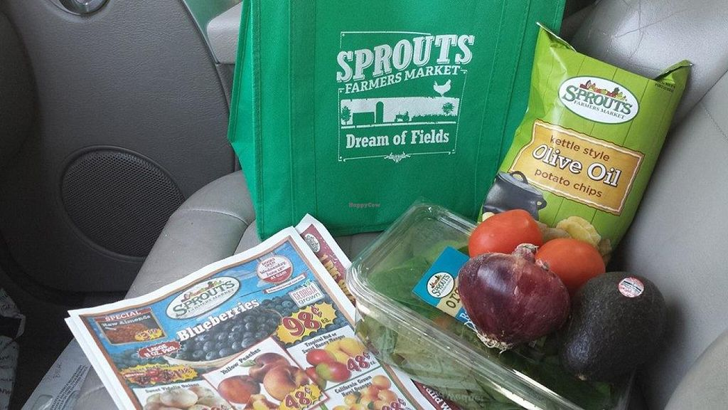 """Photo of Sprouts Farmers Market  by <a href=""""/members/profile/theveggietaste"""">theveggietaste</a> <br/>I spent only five dollars :-) <br/> July 30, 2014  - <a href='/contact/abuse/image/48722/75576'>Report</a>"""