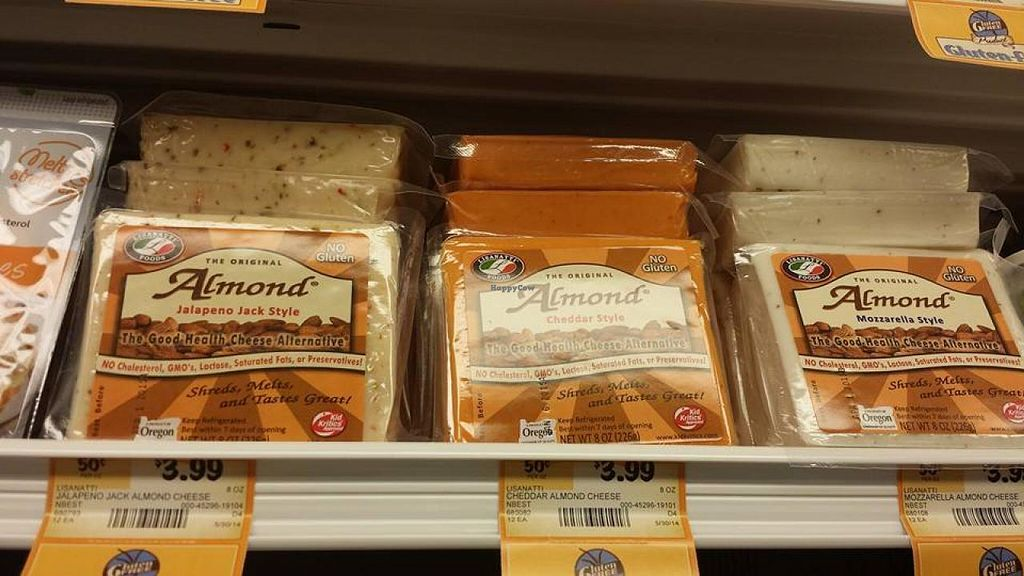 """Photo of Sprouts Farmers Market  by <a href=""""/members/profile/theveggietaste"""">theveggietaste</a> <br/>Vegan Cheeses <br/> July 30, 2014  - <a href='/contact/abuse/image/48722/75582'>Report</a>"""